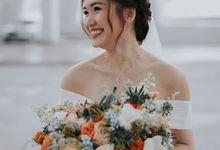 Wedding Day Bridal Makeup & hair by Makeup Pros