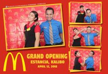 MCDO Grand Opening by Boracay Starshots Photobooth