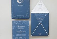 Loving this simple yet elegant invitation by Tapestry Invitation