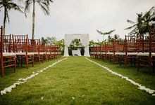 White Rustic Romantic Decoration by Bali Blessing Organizer