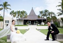 Bali Wedding Li Shun & Cong Xin at Royal Santrian Nusa Dua by Heru Photography