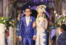 Wedding Eko & Pia - Masjid Al-Bina by Explore Photograph