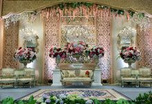 The Rose of Gold by MawarPrada Wedding Decoration