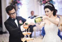 The wedding of Josie & Jelita by BEST Entertainment and Organizer
