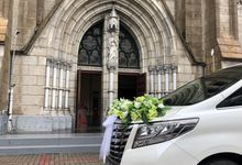 Wedding at the Cathedral 1 Feb 2020 by Velvet Car Rental