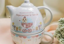 TEKO SUSUN BABY BORN by Mug-App Wedding Souvenir