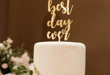 Cake Topper Design by Gordon Blue Cake