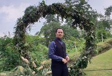 Konsep Outdoor Pada Wedding KINTAN dan MERXUSI by JACK HARYANTO MC