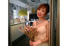 Kimie Sato 1st Wedding Dress Look by WillieHaz Hair & Beauty
