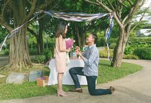 proposal - Matthew to Amelia by Awesome Memories Photography