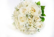 Fresh Wedding Bouquet by Maxwell Flowers