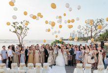 Wedding Of Gamma & Felicia (green) by Ohana Enterprise