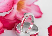 Roya wedding ring by Reine