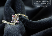 Elegant Diamond Ring by J's Diamond Jewellery