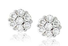 Earrings - Dazzling Pieces by eClarity Diamonds