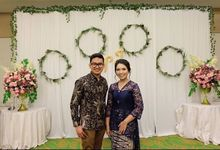 NOVIA & IBNU ENGAGEMENT by Seserahan Indonesia