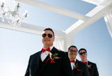 Santorini Wedding by JS Divine Events