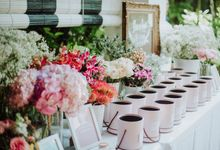 D & SH  An Outdoor Wedding at Corner House by Huahee
