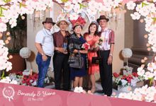 Bonardy & Yvone Wedding Photobooth by PopKron! Photobooth