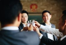 Cheers for the groom by Paperica