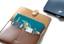 Passport Case by Le'kado