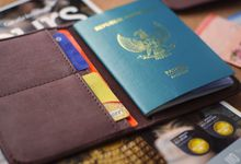 Passport Case - Gebyar & Citra by mowla souvenir
