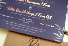 Ria & Adit Wedding Invitation by Tokoku