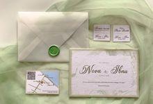 UNDANGAN PERNIKAHAN NOVA & IBNU by Moria Invitation
