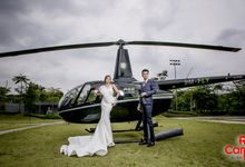 Pre Wedding Photo Shoot (HELICOPTER) by RedCarpet Bridal Artistry