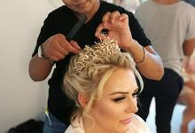 Some of our latest Hairstyles by Wow Make Up in Phuket