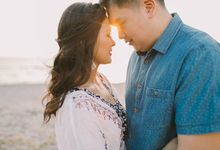 Carson & Jacqueline{Engagement Session} by Joane Kathlyn HMUA