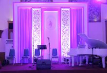 Andrini & Fandy Wedding by Kampivi Decoration
