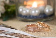 Tiana wedding band by Reine