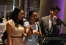 Tag Team with Church Band in Park Royal Pickering - Andy Tamara & Martha Margaretha Lim Wedding by Ring of Blessings