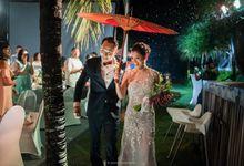Rustic Destination Wedding with Touching Details on Saba Beach by AVAVI BALI WEDDINGS