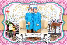 Herlia & Adiyanto Wedding Day by The Caramel's Corner