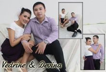 Devina & Vedrine Photoshoot by Charis Production