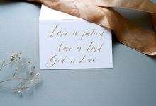 Calligraphy by Atelier Plum