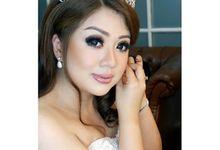 Wedding project by Kezia Evelina Larisa Makeup Artist