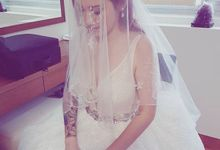 Beautiful Bride Jacinta by elitemakeupartistsinc
