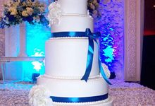 Julius Bertha Wedding by Liebelux Cake