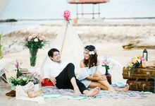 Anneke Jodi and Spencer Jeremiah Prewedding by Delont Photoholic