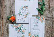 Khayangan Estate - Citrus Inspired Reception by Flora Botanica Designs