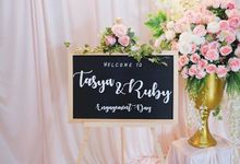 TASYA & RUBY ENGAGEMENT by Seserahan Indonesia
