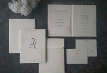 Joseph & Amanda by Vinas Invitation