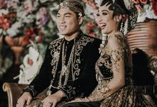 Rizal Armada & Monica Resepsi by Chandira Wedding Organizer