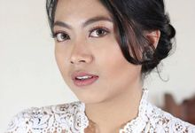 Ms Maya Prewedding photoshoot by Ari Darmastuti Hair & Makeup