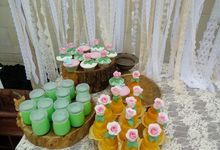 All Project Wedding Cakes by Henny Cookies and Cakes, Bali