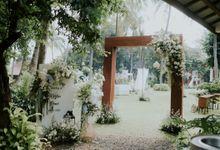 wedding rezha & laras by yellow bird