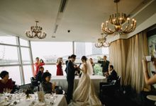 Linn & Anthony by Forlino Dining on the Bay
